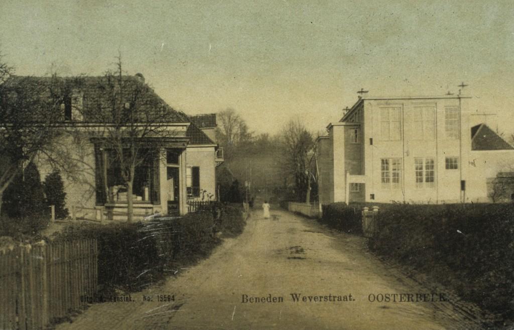 4146  Beneden Weverstraat met Openbare School
